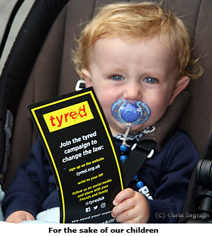 Pic: Tryed leaflet and baby