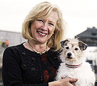 Pic: Claire Horton CEO Battersea Dog's Home
