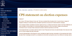 Pic: CPS website statement