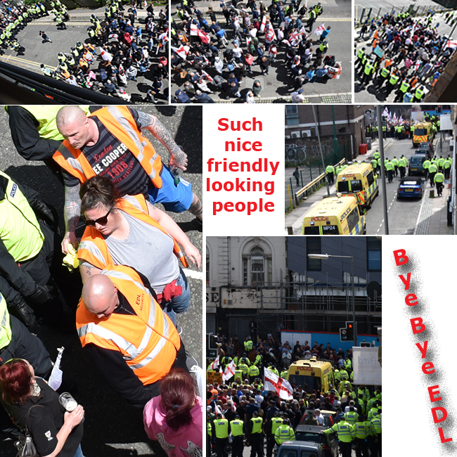 Pic: montage of EDL leaving the road