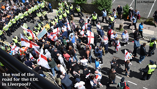 Pic: EDL at end of road