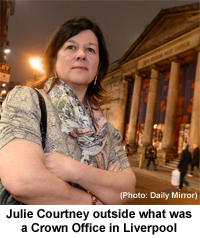 Pic: Julie Courtney - courtesy of the Daily Mirror