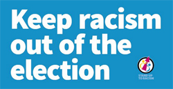 Picf: Keep racism out of the election - sign the petition by cliking on this pic