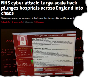 Pic: NHS cyber attack