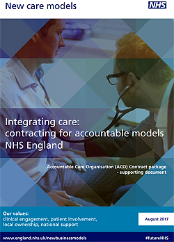 Pic: Integrating Care NHS Report - click to download