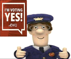 Pic: Postman Pat - click for a surprise!