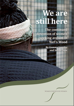 Pic: click to download report on detained women of Yarl's Wood