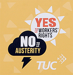 Pic: TUC says yes to worker's rights