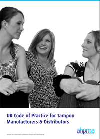 Pic: Tampon code of practice - click on the pic to download