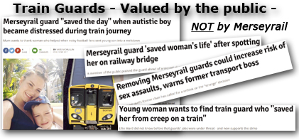 Pic: Train Guards valued