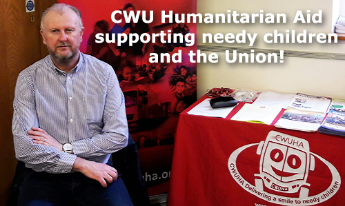 Pic: CWUHA stall